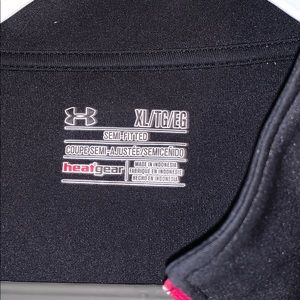 Under Armour Tops - Black Under Armour light weight quarter zip